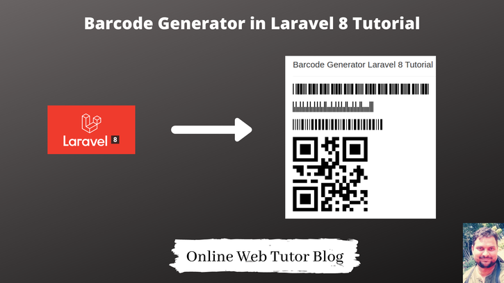 Barcode-Generator-in-Laravel-8-Tutorial